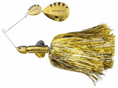 Effzett Rattlin'Spinnnerbait Gold