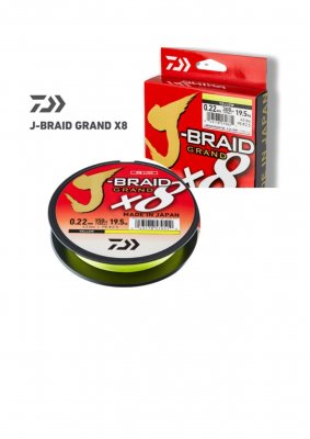 Daiwa J-Braid Grand Yellow